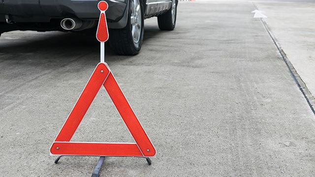 運転中に追突された場合の対応方法