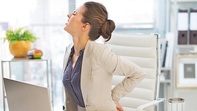 腰痛になりやすい寝方や姿勢