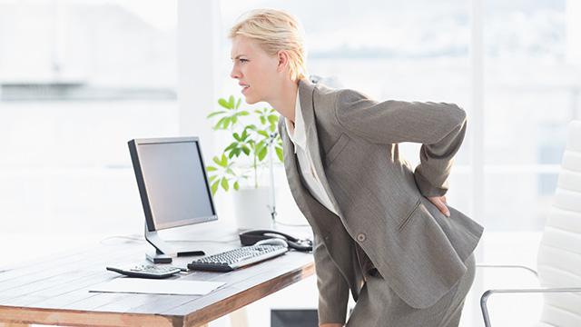 デスクワークの腰痛対策