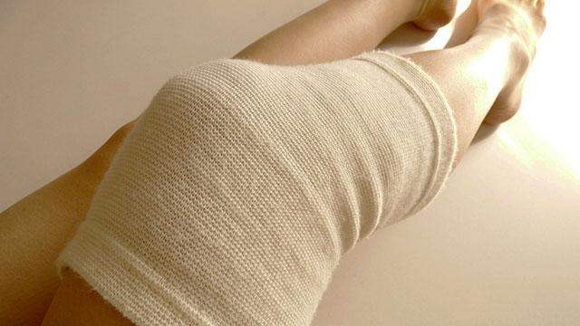 膝サポータの効果