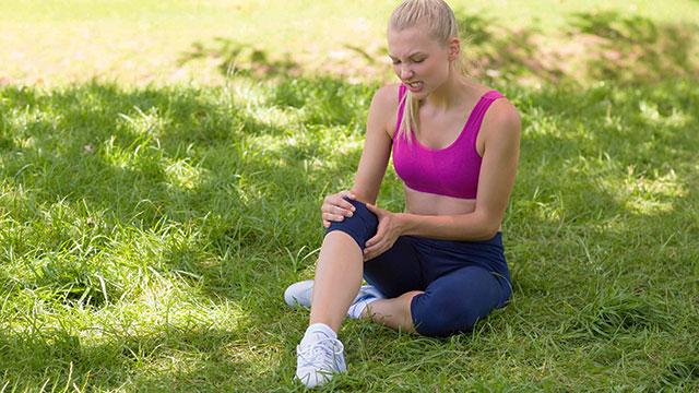 マラソンが原因の膝痛