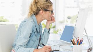 働く女性は要注意!? 腰痛を招く4つの習慣