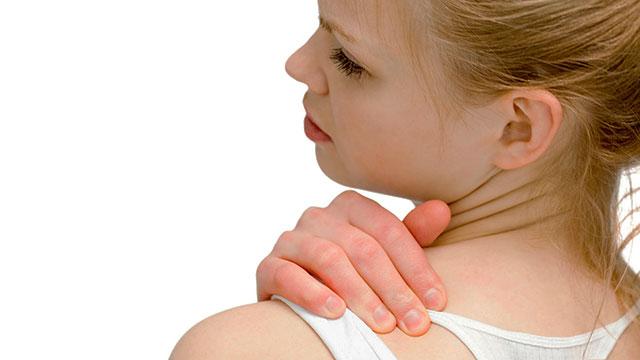 肩や背中の痛みと筋肉疲労