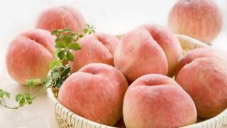 美味しく食べて美しく健康に!桃のパワーで梅雨を乗り越えよう