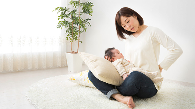 産後の腰痛を改善させるためのポイント
