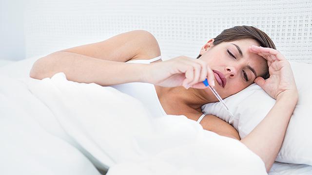 熱が出る理由や対策