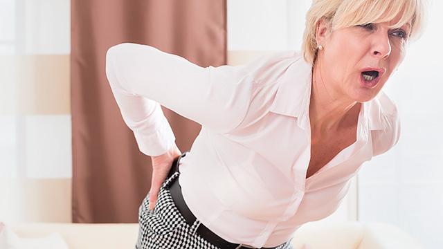 ぎっくり腰の応急処置